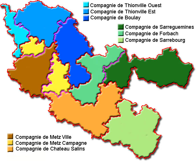 carte compagnies